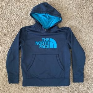 The North Face Hoodie Blue and Teal